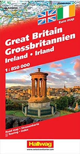 Gran Bretagna e Irlanda-Great Britain, Ireland-Grossbritannien, Irland 1:850.000 (Carte stradali d'Europa)