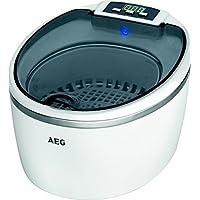 AEG 520690 Limpiador por ultrasonidos, Capacidad 600ml, Incluye Varios Soportes, 50 W,