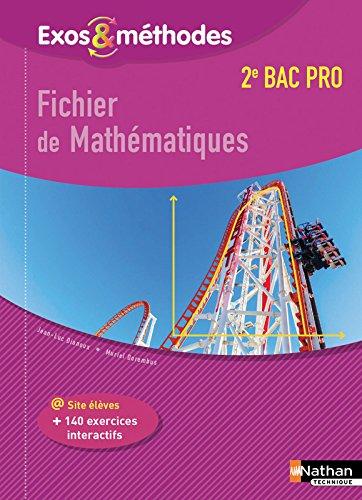 Fichier de Mathmatiques 2e Bac Pro