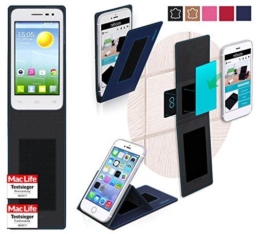 reboon Hülle für Alcatel OneTouch Pop S3 Tasche Cover Case Bumper | Blau | Testsieger