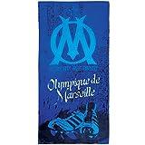 CTI 044214 Drap de Plage Om Crampons Coton Bleu 85 x 160 cm