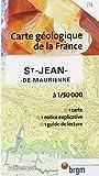 Carte géologique - St-Jean-de-Maurienne