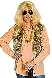 Fellweste braun für Erwachsene | Einheitsgröße| 1-teiliges Plüsch Kostüm | Felljacke Unisex Faschingskostüm | Plüschjacke für Karneval