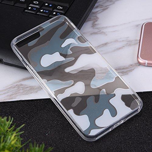 Zwei Farbe scamouflage Acryl Handy Schutz Cover TPU transparent Rahmen für iphone7 Handy-fall Für Lg-mehr Als 2