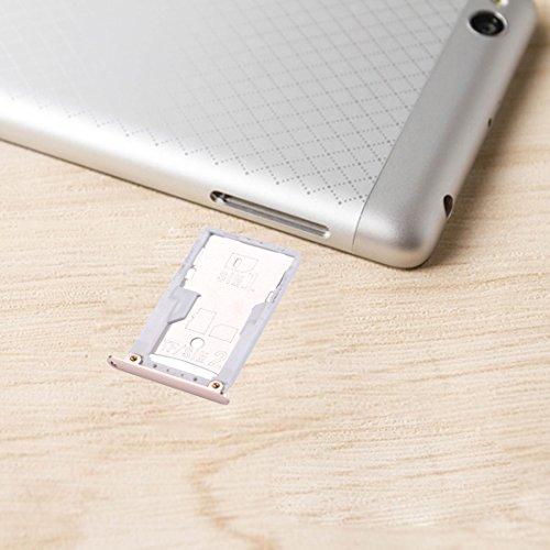 YICHAOYA Ersatzteile Hohe qualität für xiaomi redmi 3 & 3 s SIM & SIM/tf kartenfach (grau) (Farbe : Gold)