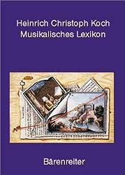 Musikalisches Lexikon: Frankfurt/Main 1802
