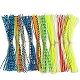Bigherfez Gadgets de pêche de Fil de Crochet de Barbe de Fil de PVC de Gel de silice de Route en Asie de Couleur favorables à l'environnement