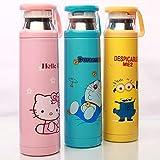 Generic 350Ml, C: Kawaii Kitty/Doraemon/Minions Stainless Steel Insulated Thermos Bottle 500Ml Coffee Mug