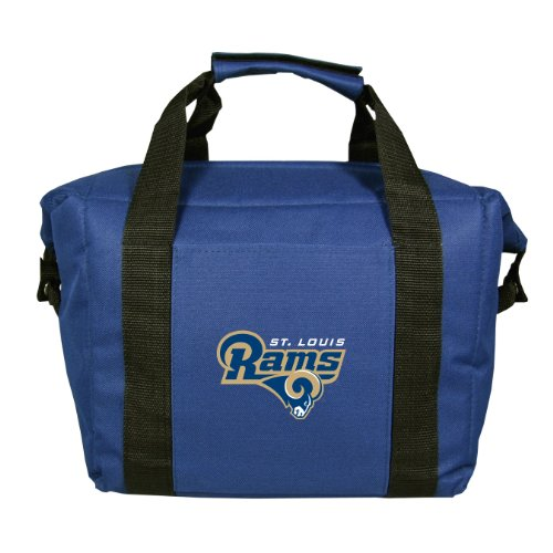 NFL St. Louis Rams Soft Sided 12-Pack Cooler Bag