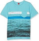 s.Oliver Jungen T-Shirt Kurzarm Grün (Turquoise 6143), 170 (Herstellergröße: XL/REG)