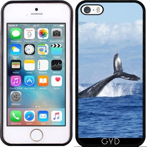 Coque pour Iphone 5c - Sealife Baleine Sous-marine by WonderfulDreamPicture Silicone