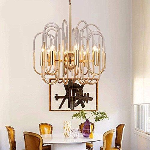 WCZ Personalisierte Dekorative Beleuchtung Crystal Chandelier, Moderne Kronleuchter, Porch Crystal Lampe, Mini-Kronleuchter, Mini-Kronleuchter,Tuba