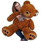 Nounours peluche ours géant XL Teddy Bear brun