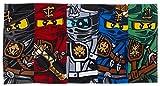 LEGO Handtuch, Motiv Ninjago-Krieger