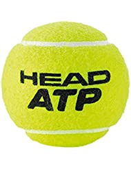 Head Atp 3B - Lote de pelotas , color amarillo, 6 DZ