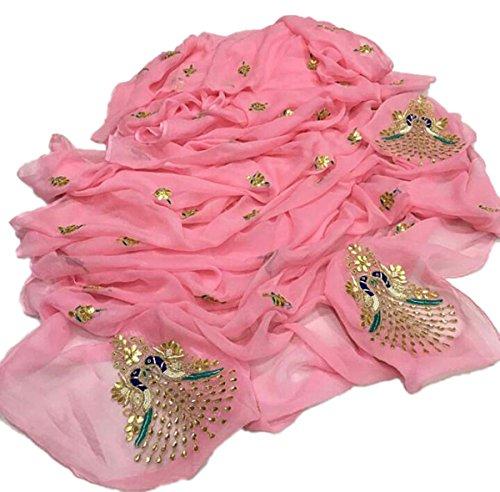 Jaipuri Rajasthani Chiffon Saree With Gota Patti Work With Gota Patti Work...