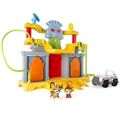 Patrulla patrulla selva salvamento mono templo, versión importada