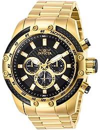 2f5318cb7582 Invicta Reloj analógico para Hombre de Cuarzo con Correa en Acero  Inoxidable 28658