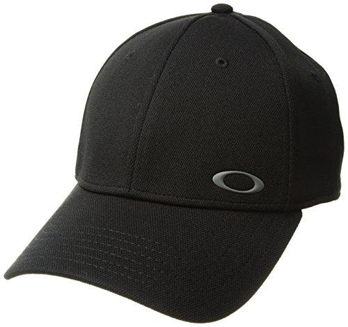 Natürliche Ellipse (Oakley Herren Silicon Ellipse Cap, Jet Black, S/M)