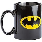 Joy Toy 106325 - Batman Keramiktasse mit Logo auf beiden Seiten, 320 ml, 12 x 9 x 10 cm