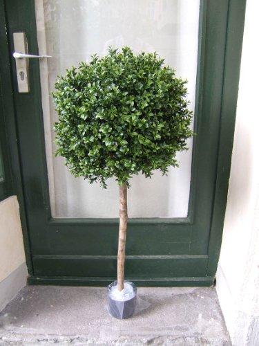 Künstlicher Buchsbaum Kugel ,Spitzenqualität,für den geschützten Außenbereich,1,10m 40cm Durchmesser