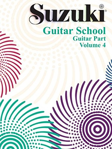 Suzuki Guitar School Guitar Part Volume 4