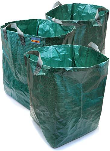 Dinámica plástico ® X3para uso pesado saco jardín
