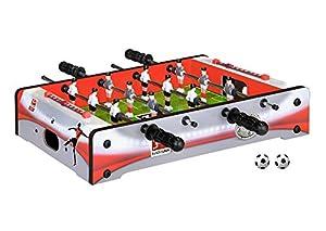 Xtrem Toys & Sports 60035-BL Mesa Interior y Exterior fútbol de Mesa - Futbolín (Mesa, Rojo, Plata, Interior y Exterior, Verde, Blanco, Niños)