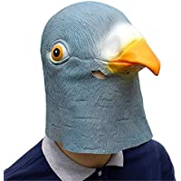 RISILAYS Festa Di Carnevale Cosplay Decorazione Festa Di Halloween  Forniture Per Feste Maschera In Lattice Pigeon f97f3572bc5e