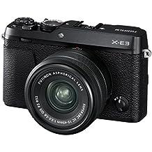 Fujifilm X-E3 Systemkamera (24,3 Megapixel) inkl. XC15-45mm F3.5-5.6 Ois PZ Objektiv Schwarz