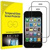 JETech Panzerglas für iPhone 4s und iPhone 4, Gehärtetes Glas Schutzfolie