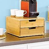 SoBuy® Kaffeekapsel Box