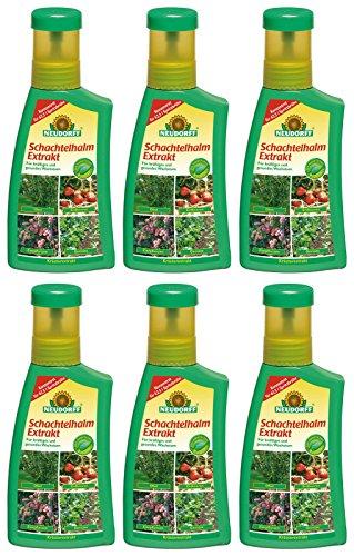 6 x 250 ml Neudorff Schachtelhalm Extrakt Pflanzenhilfsmittel