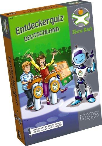 Haba 4649 - Terra Kids - Entdeckerquiz Deutschland