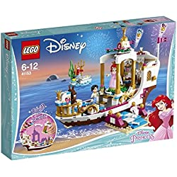 Lego Disney Princess Ariel la Barca della Festa Reale, 41153