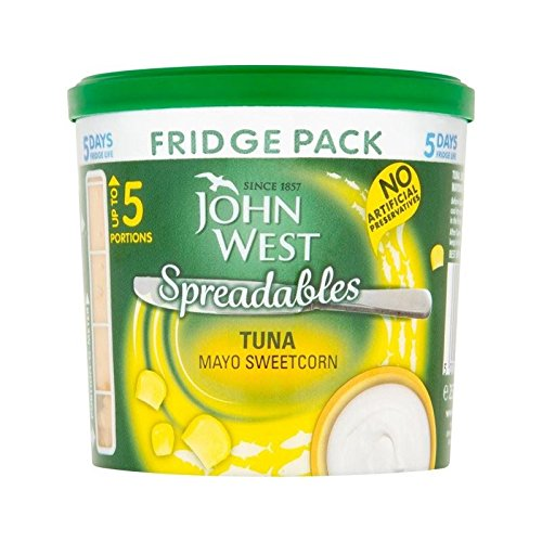 John Ouest Réfrigérateur Paquet Thon Mayo Sweetcorn 255G - Paquet de 4