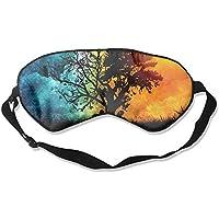 Artistic Tree Sun Moon Sleep Eyes Masks - Comfortable Sleeping Mask Eye Cover For Travelling Night Noon Nap Mediation... preisvergleich bei billige-tabletten.eu