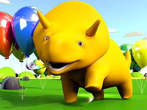【Halloween ! 】 Dino & Dina lernen eine Kürbislaterne zu schnitzen / Dino und Dina feifern eine Geburtstagsparty!