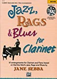 Jazz, Rags & Blues for Clarinet (Buch & CD) - Martha Mier, Jane Sebba (Arr.)