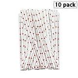 YINSONG 1000Pcs Twist Ties - para Pastel Sellado Bolsas de Celofán Lollipop Regalos Paquete, 100Pcs*10, 9cm