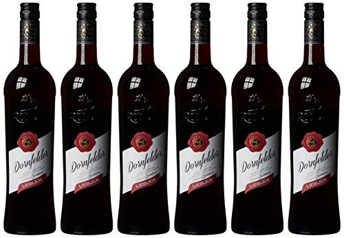 Rotwild Dornfelder QbA Rotwein lieblich (6 x 0.75 l)