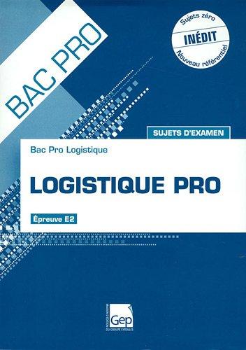 Logistique Pro, Epreuve E1A1