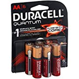 Duracell Quantum AA Alkaline Batteries 6 CT (Pack Of 16)