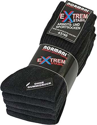 5 Paar EXTREM Stabile Arbeits und Sportsocken von normani® Farbe ANTHRAZIT Größe 35-38