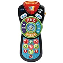 VTech 80-606275 Super Talking Baby Toy Remote Control, Multi-Coloured