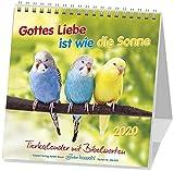 Gottes Liebe ist wie die Sonne 2020: Postkarten-Kalender für Kinder mit Gedichten und Gebeten -