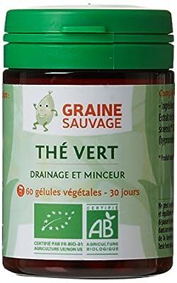 Graine Sauvage Thé Vert Bio 60 Gélule