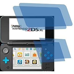 4ProTec 4X ANTIREFLEX matt Schutzfolie für New Nintendo 2DS XL Konsole Premium Displayschutzfolie Bildschirmschutzfolie Schutzhülle Displayschutz Displayfolie Folie