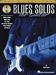Blues Solos For Guitar Tab Book/Cd