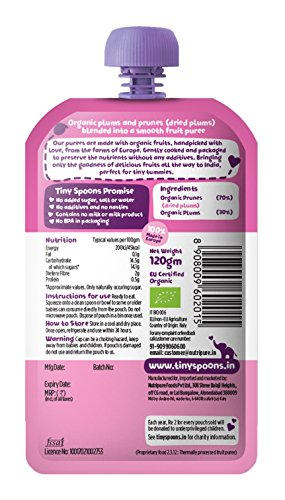 Tiny-Spoons-Eu-Certified-Organic-Baby-Food-Puree-6-Months-with-Plums-and-Prunes-120-G-Each-Pack-of-3